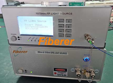 1070 FP and 650 and 1310nm DFB Light Source